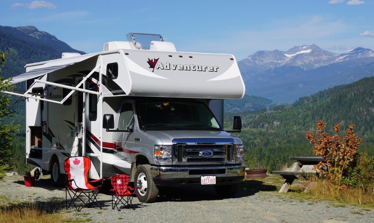 Campervan RV tour operator