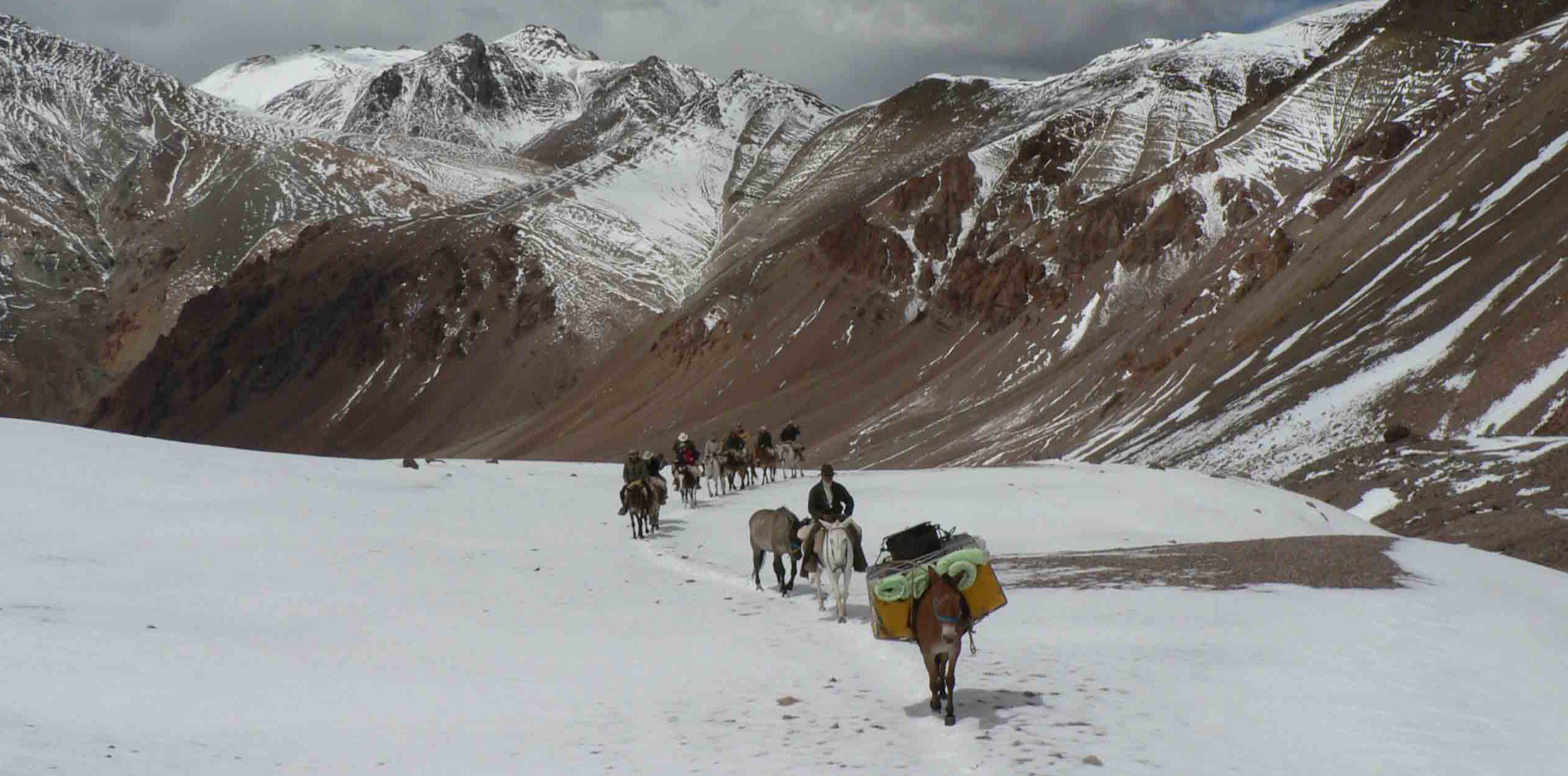 horse trekking argentina
